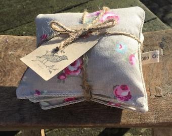 Lavender Drawer Sachets - Rose Buds