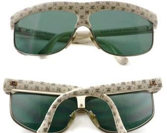 Vintage COURREGES Multiple Logo Monogram Sunglasses