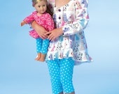 """McCall's Girls' and 18"""" Doll's Patterns, Choose Pattern"""