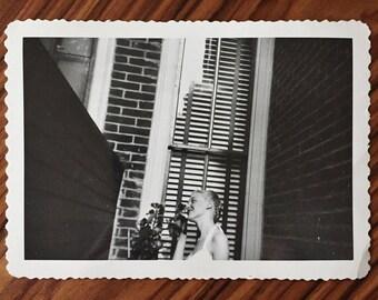 Original Vintage Photograph Darla Dreaming 1948