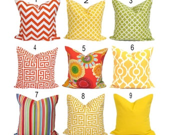 OUTDOOR PILLOWS, Outdoor Pillow Covers, Outdoor Throw Pillow Covers, Outdoor  Pillows,Outdoor