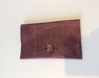 Pouch Bag,Leather  Portfolio  Case,Coins Purse Bag,Leather Wallet
