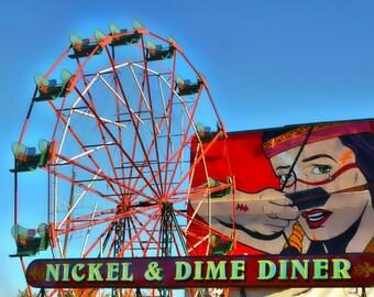 Nickel & Dime Diner Photo Print