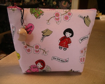Asian Fortune Cookie Clutch