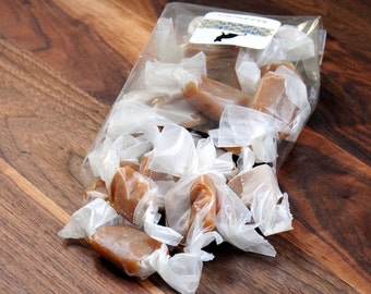 Apple cider salted caramels, 15 pieces-- FREE SHIPPING!