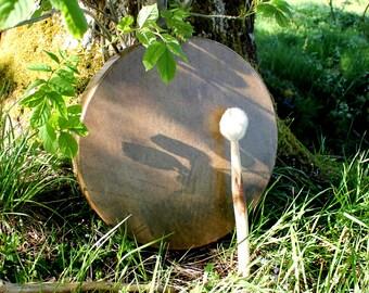 15 Inch Horse Hide Shamanic Drum