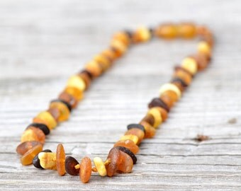 Wholesale 10 Baltic amber teething necklaces