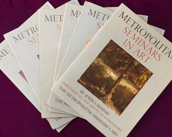 Metropolitan Seminars in Art by John Canaday, Portfolios 2, 6, 7, 8, 9, and 12, 1958 & 1959