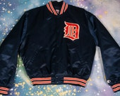 Detroit TIGERS Baseball  Starter Jacket Size XL