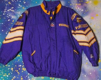 Minnesota VIKINGS Football Starter Jacket Size L