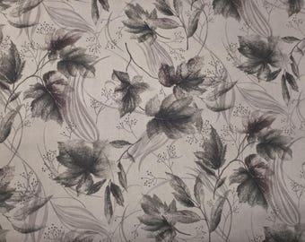 Leaves on Brown -  Cotton Fabric - Elite -  FL-01