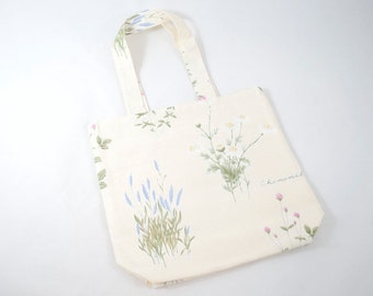 Small Project Bag - Cottage Flowers
