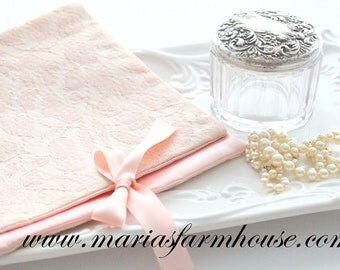 Vintage, Victorian Hosiery Bag, Bridal Lingerie Satin Pouch, Gifts for Her, Travelling Satin Bag, Bridal Shower Gift Inspiration