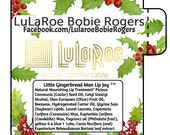 LuLaRoe, Lip Balm, Christmas, Holiday, 120, Chapstick, personalized, Stickers, Lularoe Consultant, Promotional, Marketing, Business Cards