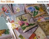 ON SALE Zoë's Vintage Wallpaper Scrap Pack | 35+ pcs | Antique Wall Paper Mini Paper Pack | Old Wall Paper | Floral | Patterns