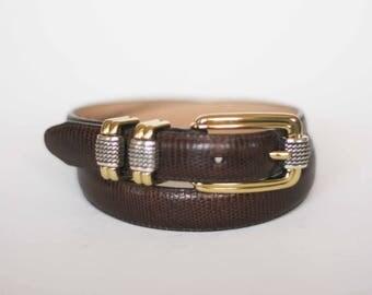 vintage brighton belt size S 28