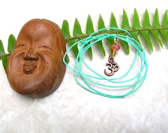 Ohm Necklace - Dainty Necklace - Bohemian Jewelry