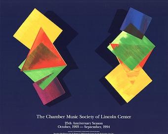 Dorothea Rockburne-The Chamber Music Society-1993 Serigraph