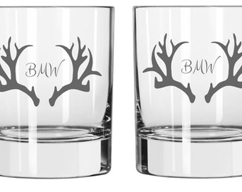 Antler Glass FREE Personalization