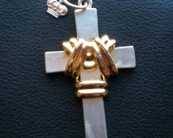 Vintage 90s Nineties Cross Pendant