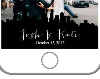 Seattle Wedding Snapchat Filter | Seattle Washington | City Skyline | Personalized Snapchat Filter | Custom | Space Needle