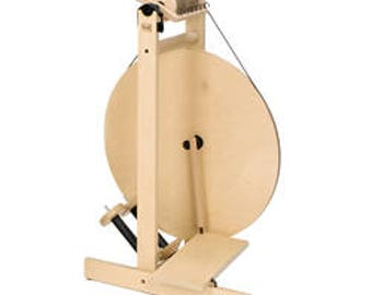 Gift For Her - Affordable Wheel - Castle Style Spinning Wheel -  S17 Single Treadle Wheel