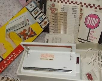 Vintage Dazey Seal A  Meal , Vintage Kitchen Tools, Vintage Kitchen, Vintage Kitchen Decor, Movie Prop :)s*
