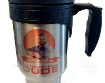 Personalized Father's Day Travel Mug