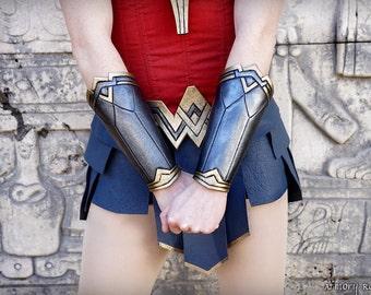 Wonder Woman Cosplay Bracers