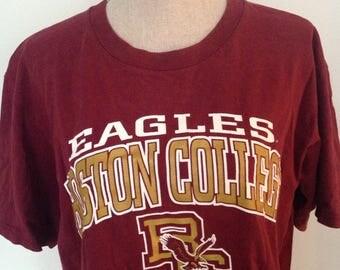 Vintage Boston College Tshirt