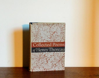 Collected Poems of Henry Thoreau edited by Carl Bode 1st Edition 1943 With Jacket
