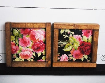 Vintage Rose Garden - Mini Wood Sign
