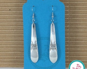 Upcycled Flatware Earrings