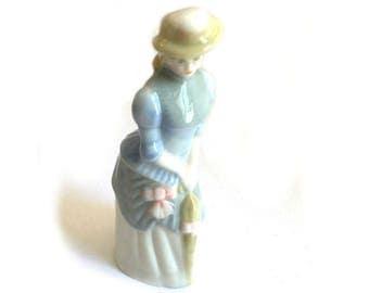 Wade Whimsie: Rebecca My Fair Ladies Figurine - 1990 - Wade My Fair Ladies - Wade Figurines - Wade Rebecca - Wades - Wade Whimsies