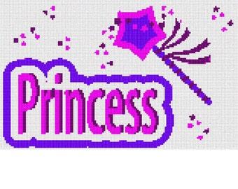 Needlepoint Kit or Canvas: Princess