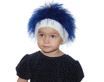 Baby or Adult hats / Cabbage Patch Hat  / Beanie Wig  / Children  fuzzy hat  Thing 1 Thing 2/ Baby costume / Halloween Costume / troll wig