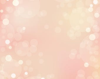 Soft Pink Bokeh - Vinyl Photography  Backdrop Photo Prop
