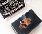 We PLAN on DYING ALONE Soap - 4 oz. Valentine's Day Skull Soap