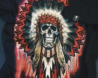 Sale! Mandala Skull T-Shirt