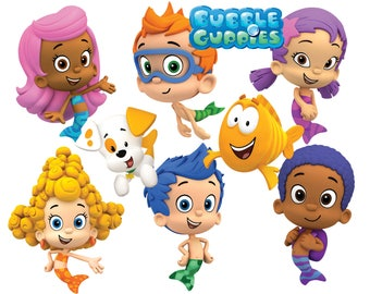 Best collection of 75 BUBBLE GUPPIES images - 75 high quality Bubble Guppies CLIPART - 75 Bubble Guppies Graphics and frames !!!