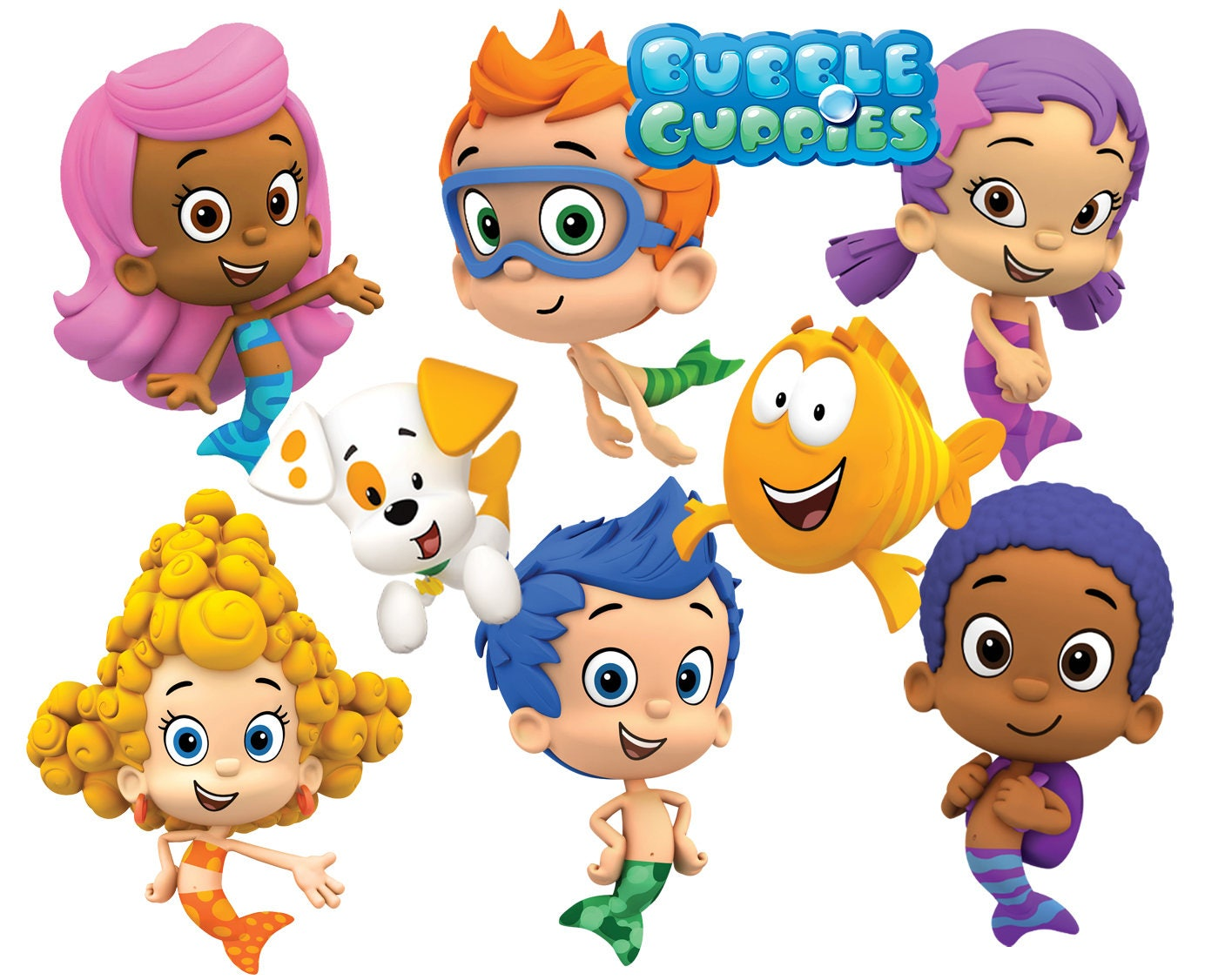 best collection of 75 bubble guppies images 75 high quality