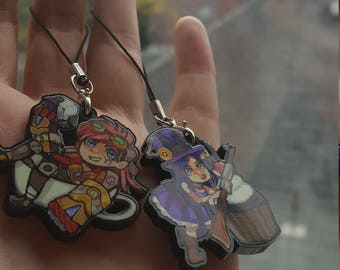 SALE: Caitlyn and Vi Keychains PILTOVER'S FINEST