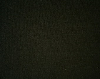 "Black Bamboo Spandex Jersey Fabric 60"" Wide 15 Yards Wholesale"
