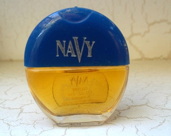Vintage Mini NAVY Cologne .1oz/3ml by Noxell