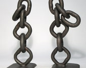 Heavy Chain Bookends