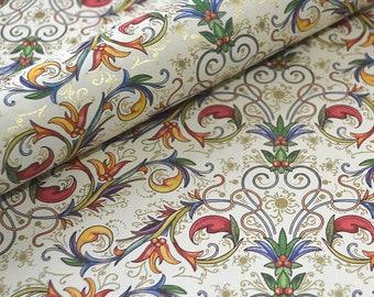 Italian Decorative Paper - Florentine Scrolls