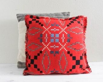 Vintage Southwestern Wool Pillow