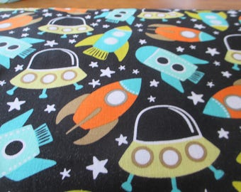 Quilting Weight Cotton Fabric Space Station by Michael Miller 1 yard