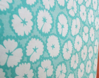 Quilting Weight Cotton Fabric LOL CYT ub Bfs Turquoise by Me and My Sister for Moda 1 yard