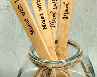 Personalized wooden spoon, Custom Wooden Spoon, Kitchen Gifts, Grandparent Gift, Grandmother Gift, Engraved Wooden Spoon, Kitchen Spoons